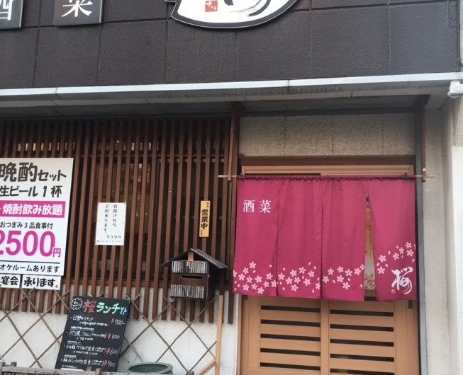 酒菜 桜 2